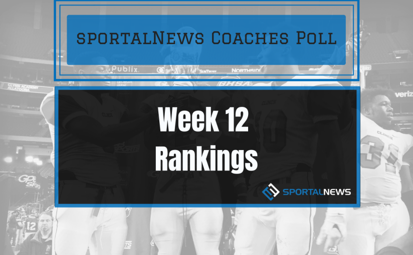 Week 12 Football Coaches Poll