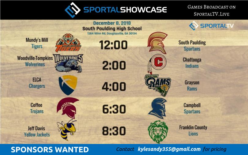 sportalshowcase Sponsors Wanted