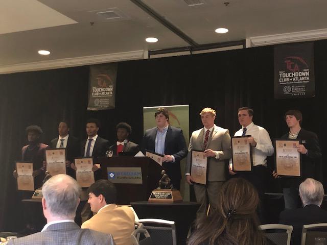 Touchdown Club of Atlanta 2018Awards