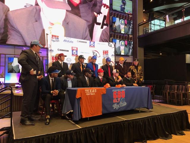 Atlanta Football Players on National SigningDay